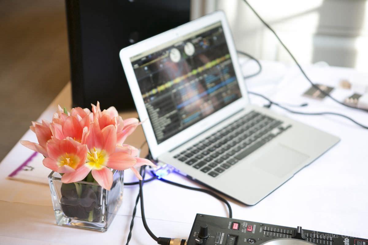 DJ Equipment von Hochzeits und Event DJ Markus Rosenbaum.