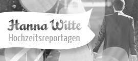 Logo Hanna Witte Hochzeitsreportagen.