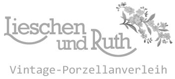Logo Lieschen und Ruth Vintage Porzellanverleih.