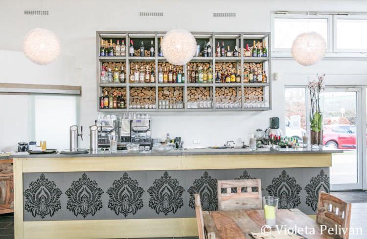 Die Bar in der Hochzeitslocation Das Trüffelschwein bei Düsseldorf