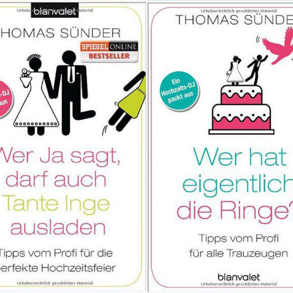Thomas Suender Hochzeitsbücher