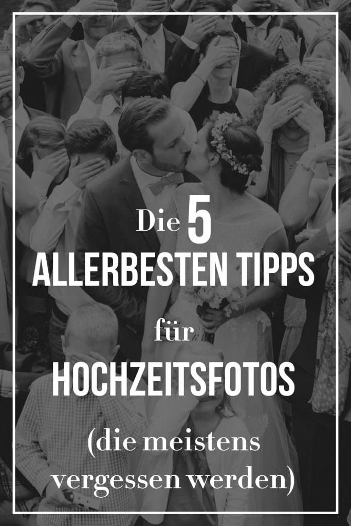 Die 5 allerbesten Tipps für Hochzeitsfotos