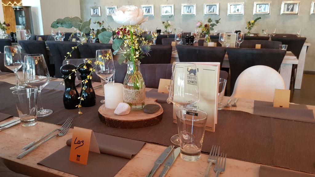 Hochzeit im Trüffelschwein in Hilden feiern