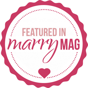 Badge featured in marryMAG