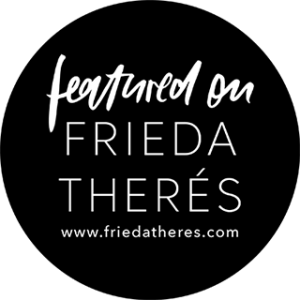 Badge featured on Frieda Therés