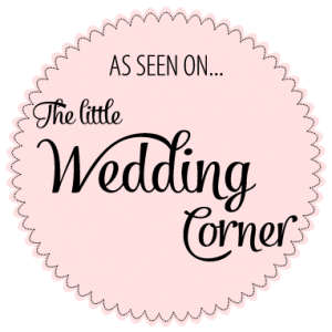 Badge seen on The little wedding corner