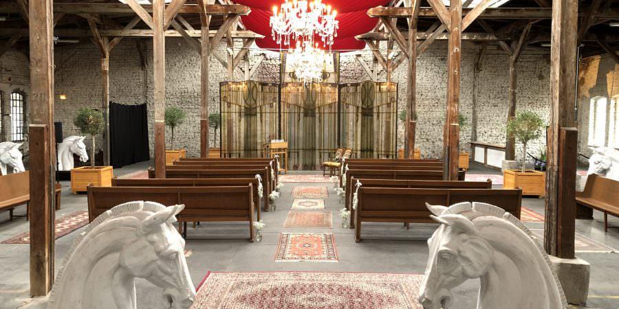 Location Freie Trauung Düsseldorf: Trausaal von Chapelle de Nüss