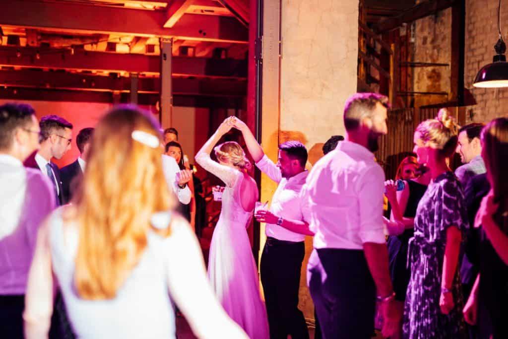 Hochzeit Gutshof Ladenburg: Hochzeitsparty