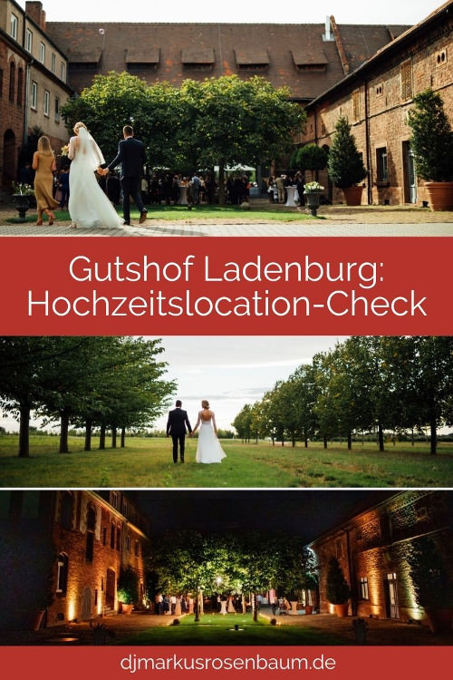 Gutshof Ladenburg: Phänomenale Hochzeitslocation bei Heidelberg