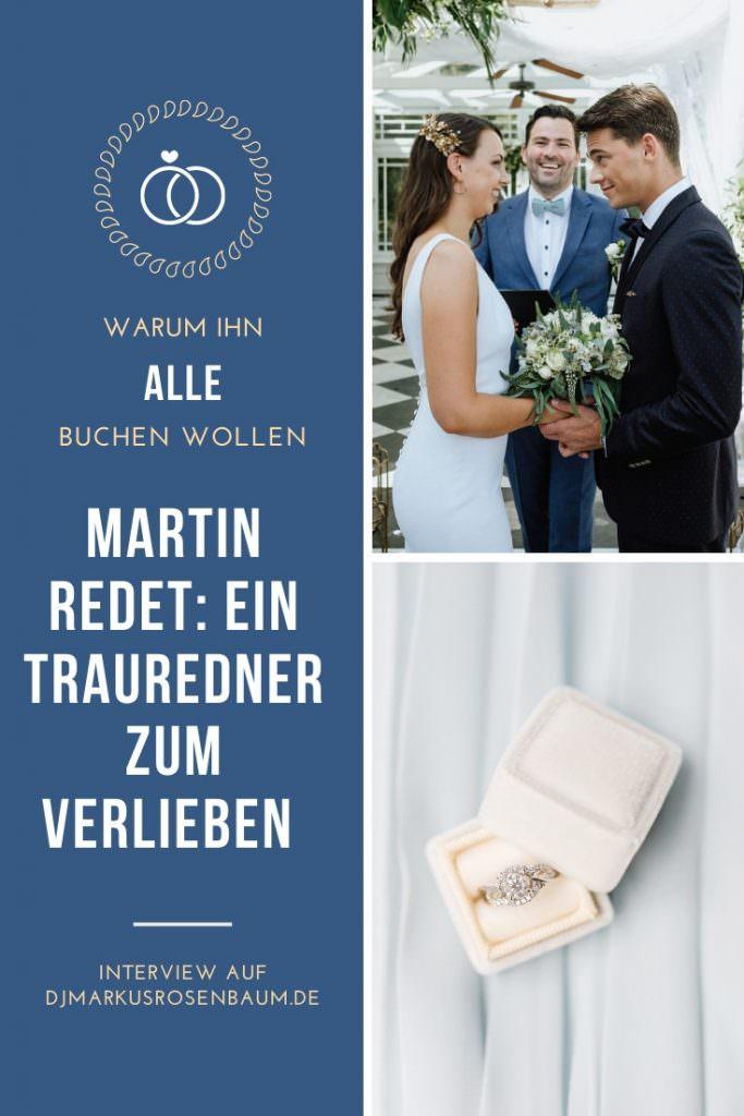Martin redet: Hochzeitsredner für freie Trauungen in NRW