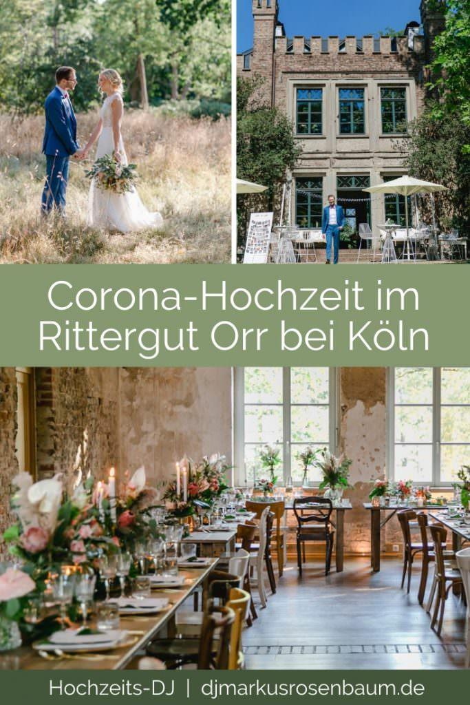 Rittergut Orr-Hochzeit bei Köln trotz Corona