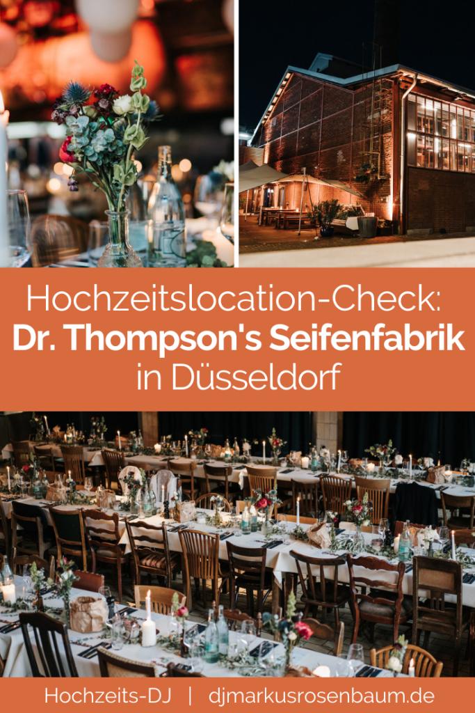 Hochzeitslocationcheck – Seifenfabrik Dr. Thompson's: Eine alte Industriehalle voller Atmosphäre