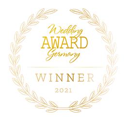 Auszeichnung Wedding Award 2021